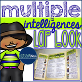 Multiple Intelligences Lap Book for Elementary School Counseling