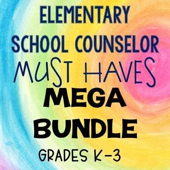 Elementary School Counseling Must Haves Mega Bundle
