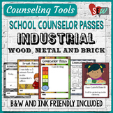 Counseling Office: Industrial Elementary School Counselor Passes
