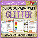 Counseling Office: Glitter Elementary School Counselor Passes