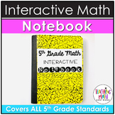 Elementary Interactive Math Notebook: 5th Grade BUNDLE
