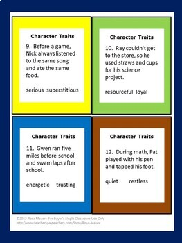 Elementary School Language Arts Task Cards and Worksheets Bundle