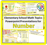 Elementary School Math Topics: NUMBER