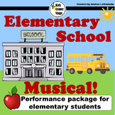 Elementary School Musical script for single class or large