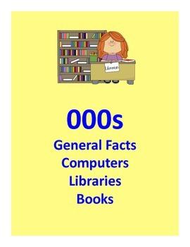 Elementary Library Dewey Signs