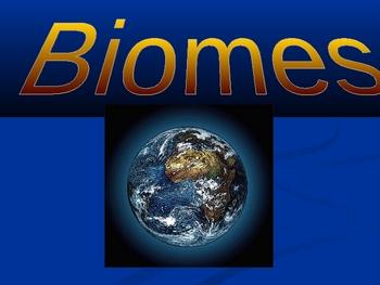 Elementary School Science: Biome Basics!