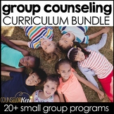 Small Group Counseling Curriculum Activities Bundle