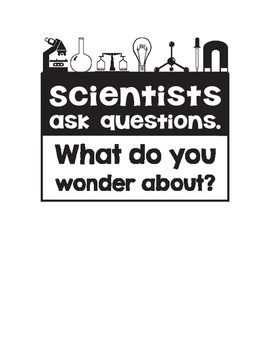 Elementary Science Classroom Posters