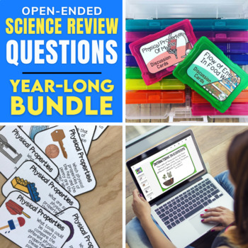 Elementary Science Discussion Cards: Growing Bundle