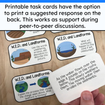 Full Year Upper Elementary Science Activities | Discussion Cards