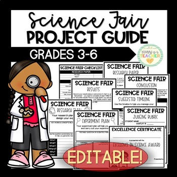 Elementary Science Fair Project Guide - Instructions/Plann