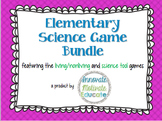 Elementary Science Game Bundle: Living/Nonliving & Science Tools