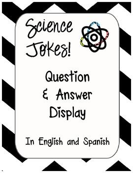 Elementary Science Jokes Display