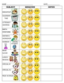 Elementary Smiley Behavior Tracker
