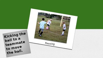 Elementary Soccer Flashcards