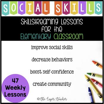 Elementary Social Skills Year Long Lessons