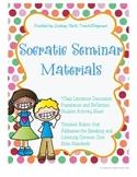 Elementary Socratic Seminar Literature Discussion Materials