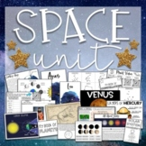 All About Outer Space: Sun, Moon, Planets, and Stars Solar System Unit