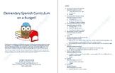 Elementary Spanish Curriculum on a Budget!