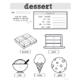 Spanish Food: Desserts | Spanish Vocabulary