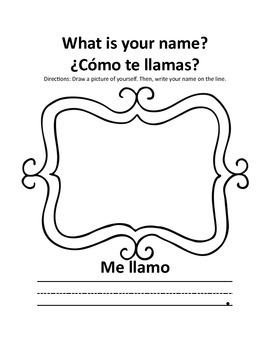 Elementary Spanish Introduction Unit