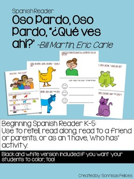 Elementary Spanish Reader: Oso Pardo