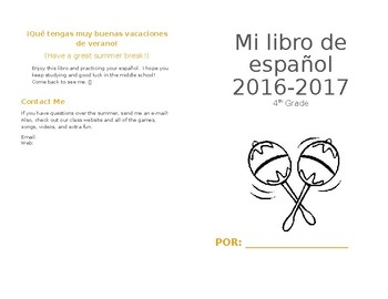 Elementary Spanish Review Booklet