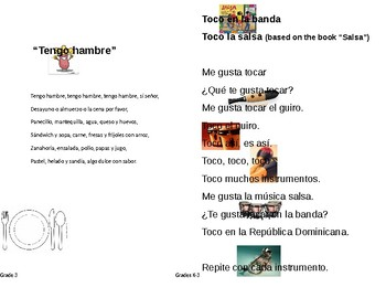 FLES Elementary Spanish Student Song Book