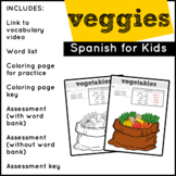 Spanish Food: Vegetables | Spanish Vocabulary