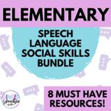 Elementary Speech, Language, and Social Skills Bundle | Mu