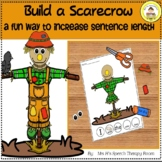 Elementary Speech Therapy Build a Scarecrow To Increase Se