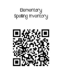 Word Study (Words Their Way) Spelling Inventory QR Code