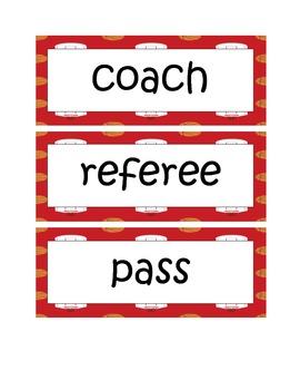Elementary Sports Literacy Unit