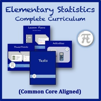 Elementary Statistics Complete Curriculum by Ashley Spencer