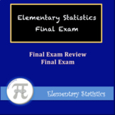 Elementary Statistics Final Exam