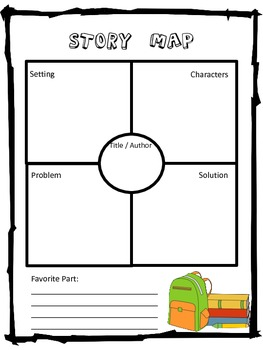 Elementary Story Map Variety Pack