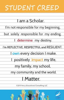 Elementary Student Creed