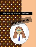 Elementary Student Lab Sheet