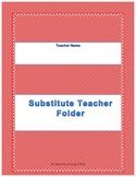 Elementary Substitute Folder