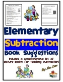 Elementary Subtraction Book Suggestions