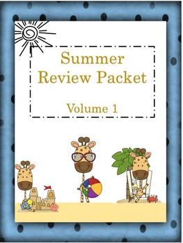Elementary Summer Review Packet