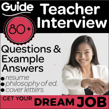 Teacher Interview Preparation Guide for Elementary. 80+ Questions and Answers.