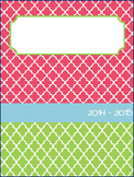 Elementary Teacher Planbook Pages