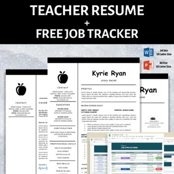 teacher resume template teaching elementary teacher cover letter download