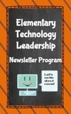 Elementary Newsletter Program: Technology Leadership