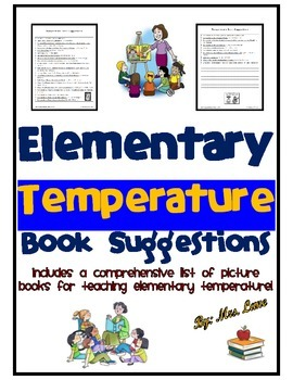 Elementary Temperature Book Suggestions