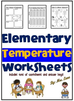 Elementary Temperature Worksheets