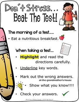 Elementary Test Prep Strategies