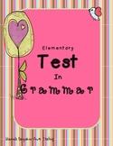 Elementary Test in Grammar