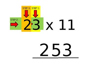 Elementary UIL Number Sense Multiply by 11 Introduction